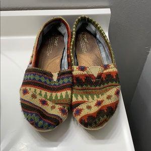 Beautiful unique pair of Toms
